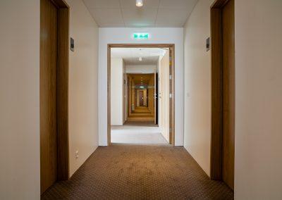 Fransiskus Hall way
